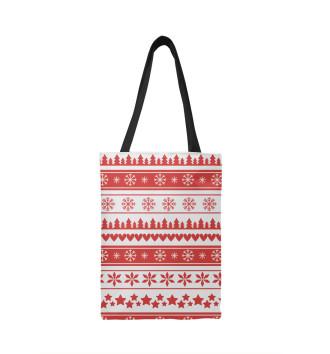 Сумка-шоппер Новогодний свитер