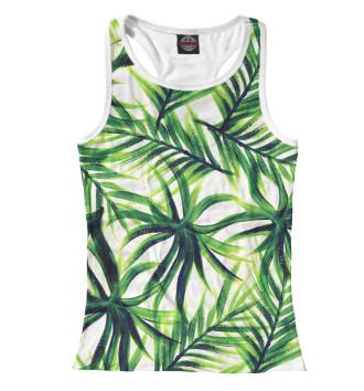 Женская Борцовка Пальмовые листья