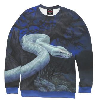Мужской Свитшот Белая змея