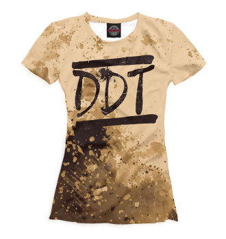 Женская Футболка DDT
