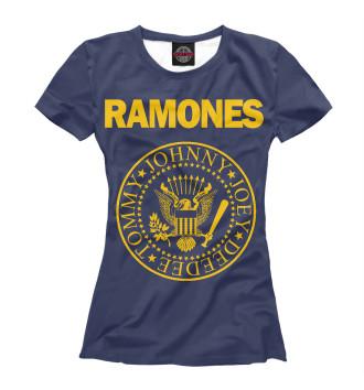 Женская Футболка Ramones
