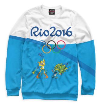 Женский Свитшот Олимпиада Рио-2016