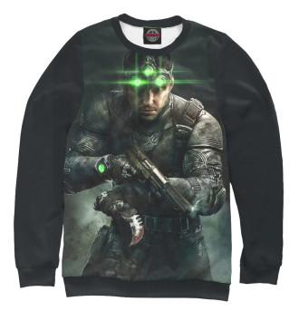 Женский Свитшот Splinter Cell: Blacklist — Сэм Фишер