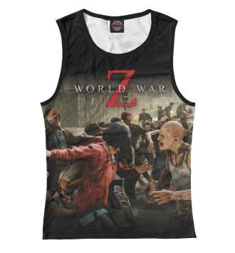Женская Майка World War Z