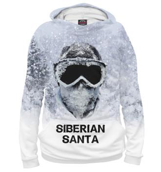 Мужское Худи Сибирский Санта