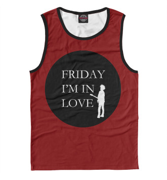 Мужская Майка Friday, i am in love!