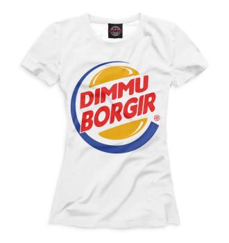 Женская Футболка Dimmu Borgir