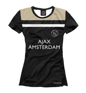 Женская Футболка Ajax