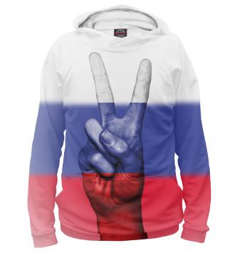 Мужское Худи Флаг России