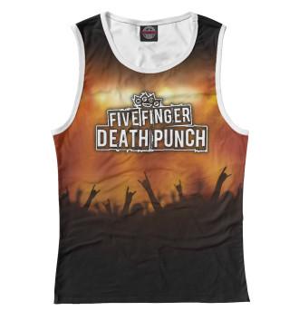 Женская Майка Five Finger Death Punch