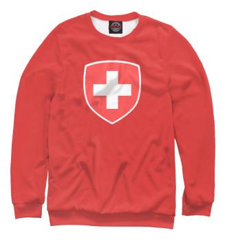 Женский Свитшот Сборная Швейцарии