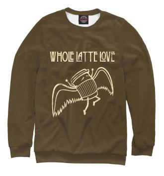 Мужской Свитшот Whole Latte Love
