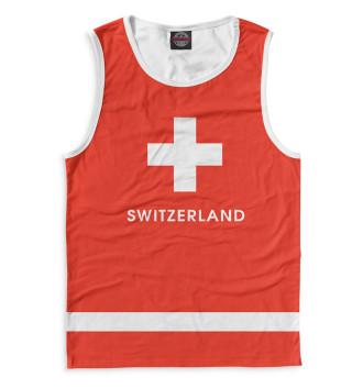 Мужская Майка Сборная Швейцарии