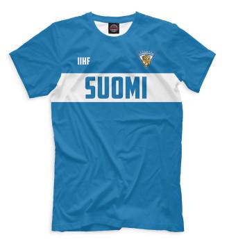 Мужская Футболка Сборная Финляндии