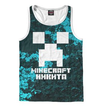 Мужская Борцовка Никита-Minecraft