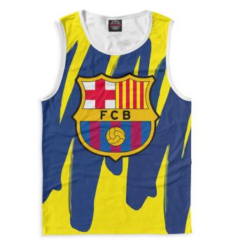 Мужская Майка Герб FC Barcelona