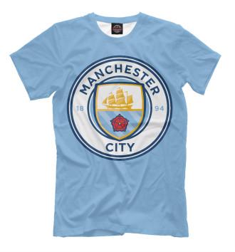 Мужская Футболка Манчестер Сити