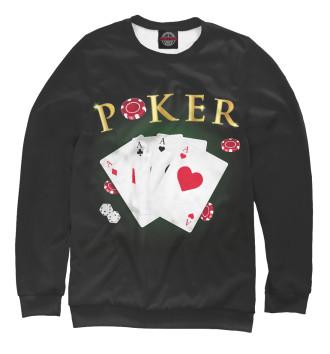 Женский Свитшот Покер
