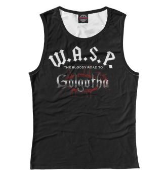 Женская Майка W.A.S.P. Band