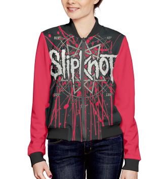 Женский Бомбер Slipknot