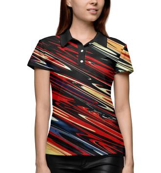Женское Поло Tie-Dye