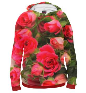 Женское Худи Розы