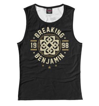 Женская Майка Breaking Benjamin