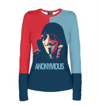 Женский Лонгслив Anonymous