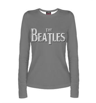 Женский Лонгслив The Beatles Gray