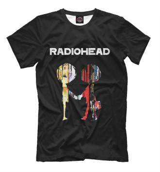 Мужская Футболка Radiohead