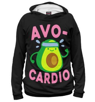 Женское Худи Avo-Cardio