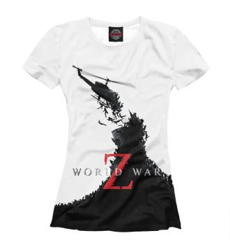 Женская Футболка World War Z