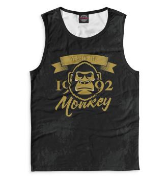 Мужская Майка Год обезьяны — 1992