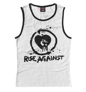 Женская Майка Rise Against