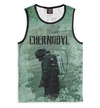 Мужская Майка Chernobyl