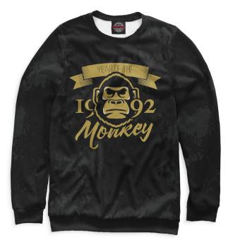 Женский Свитшот Год обезьяны — 1992
