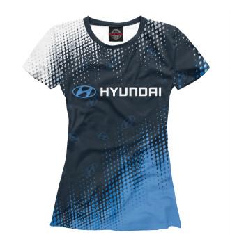 Женская Футболка Hyundai / Хендай