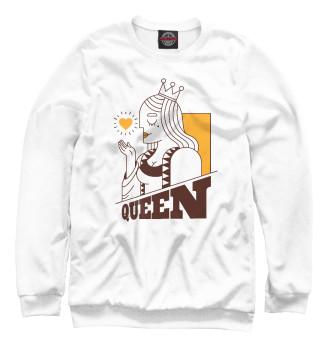 Мужской Свитшот Королева