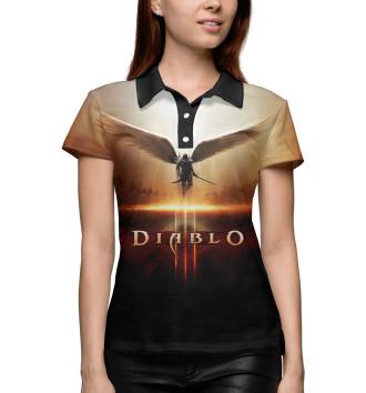Женское Поло Diablo 3