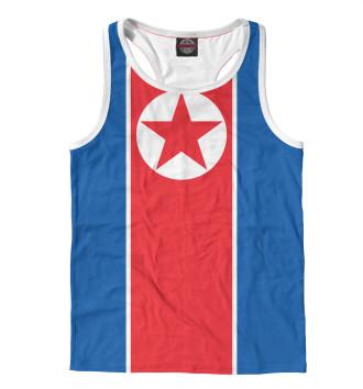 Мужская Борцовка Флаг Северной Кореи