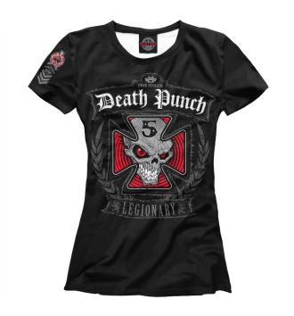 Женская Футболка Five Finger Death Punch
