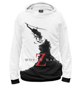 Женское Худи World War Z