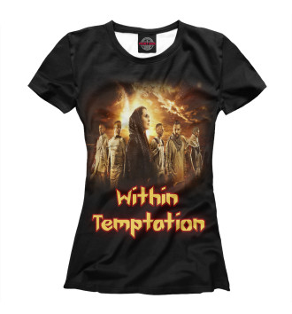 Женская Футболка Within Temptation