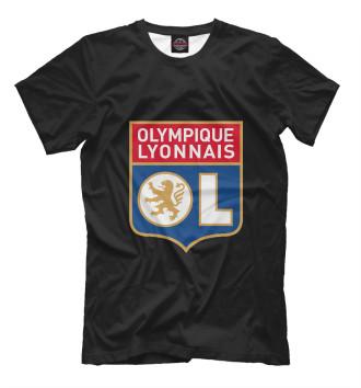 Мужская Футболка Olympique lyonnais
