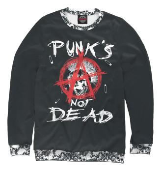 Женский Свитшот Punk's Not Dead