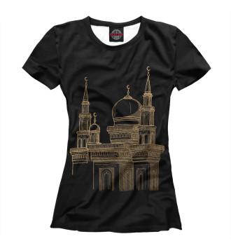 Женская Футболка Мечеть