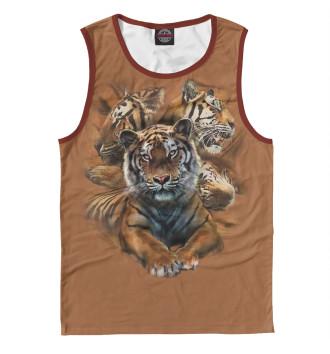 Мужская Майка Тигры