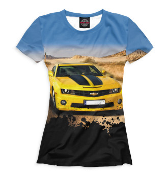 Женская Футболка Chevrolet Camaro