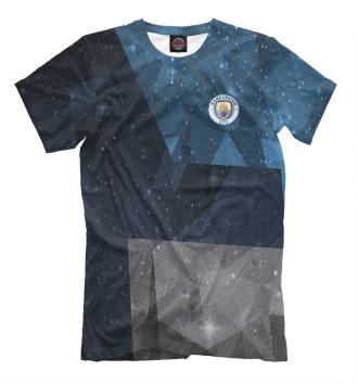 Мужская Футболка FC Manchester City