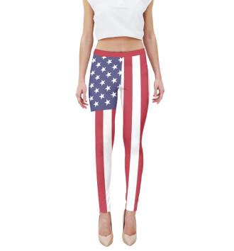 Женская Леггинсы Флаг США